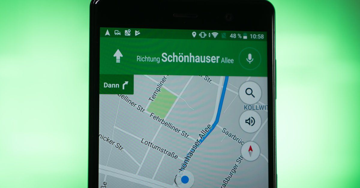 Google Maps Geschwindigkeit