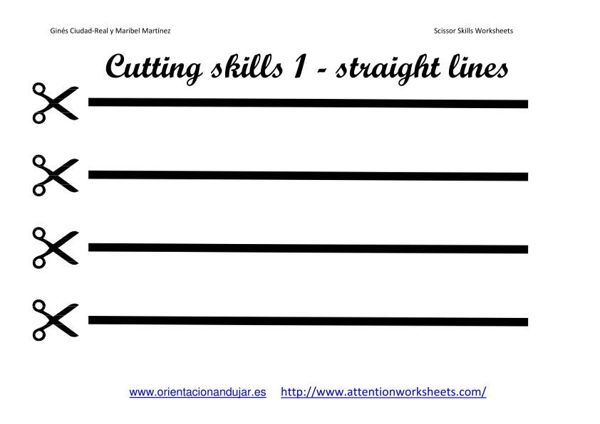 prek scissor skills activities – Preschool Cutting Worksheets