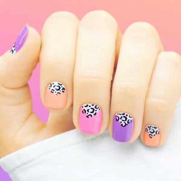 Cute Leopard Nail Idea Nail Art Pinterest Leopard Nails And
