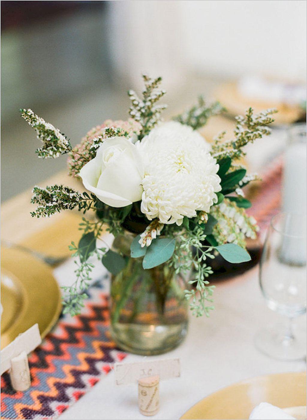 Best 40 Simple White Flower Centerpieces Ideas Httpsstiliuse