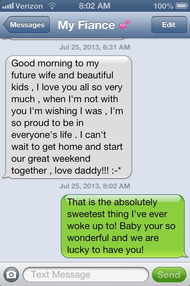 i love waking up to his sweet text messages quotes pinterest