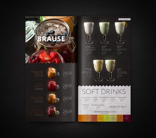 RAGU cafe | Identity | elements | menu on Behance | Menu
