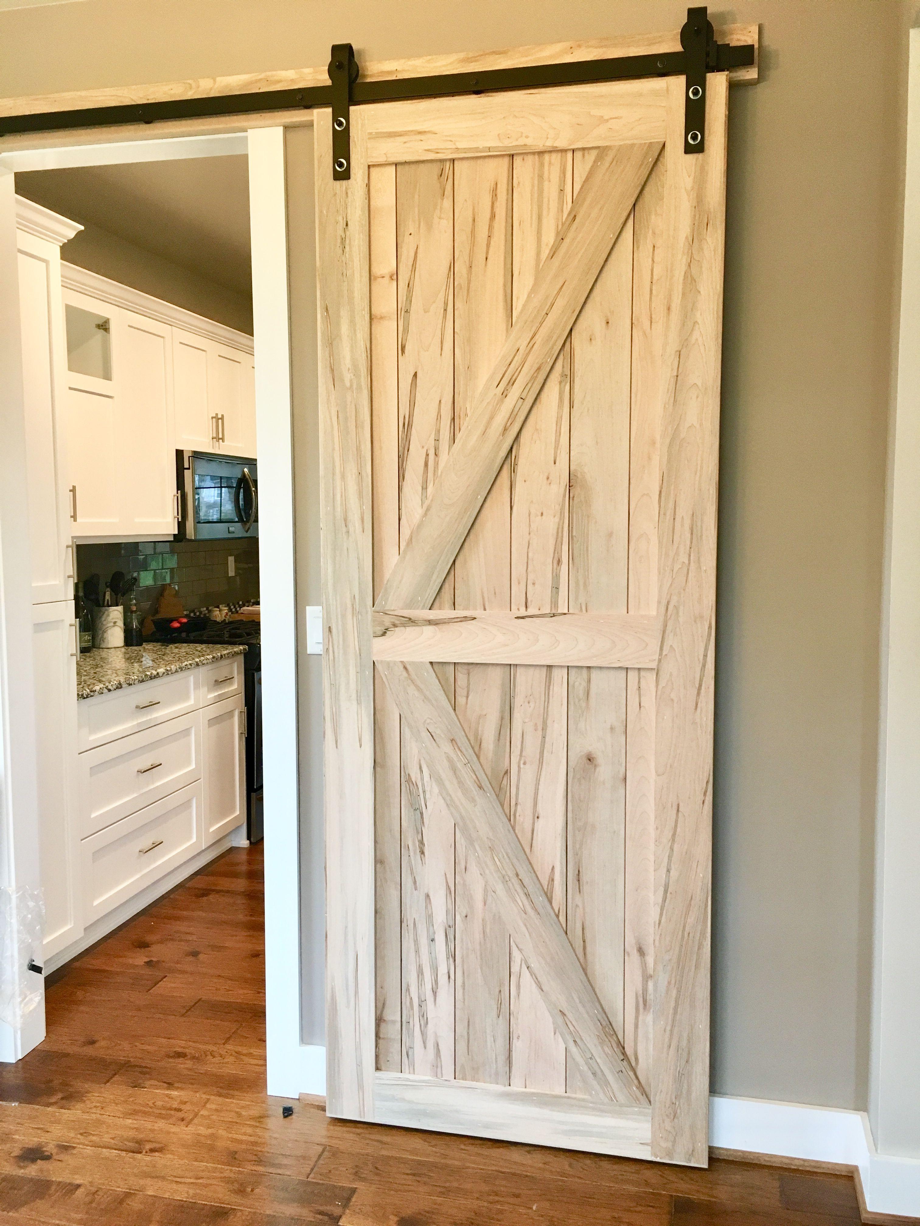Ambrosia Maple Barn Door Barndoor