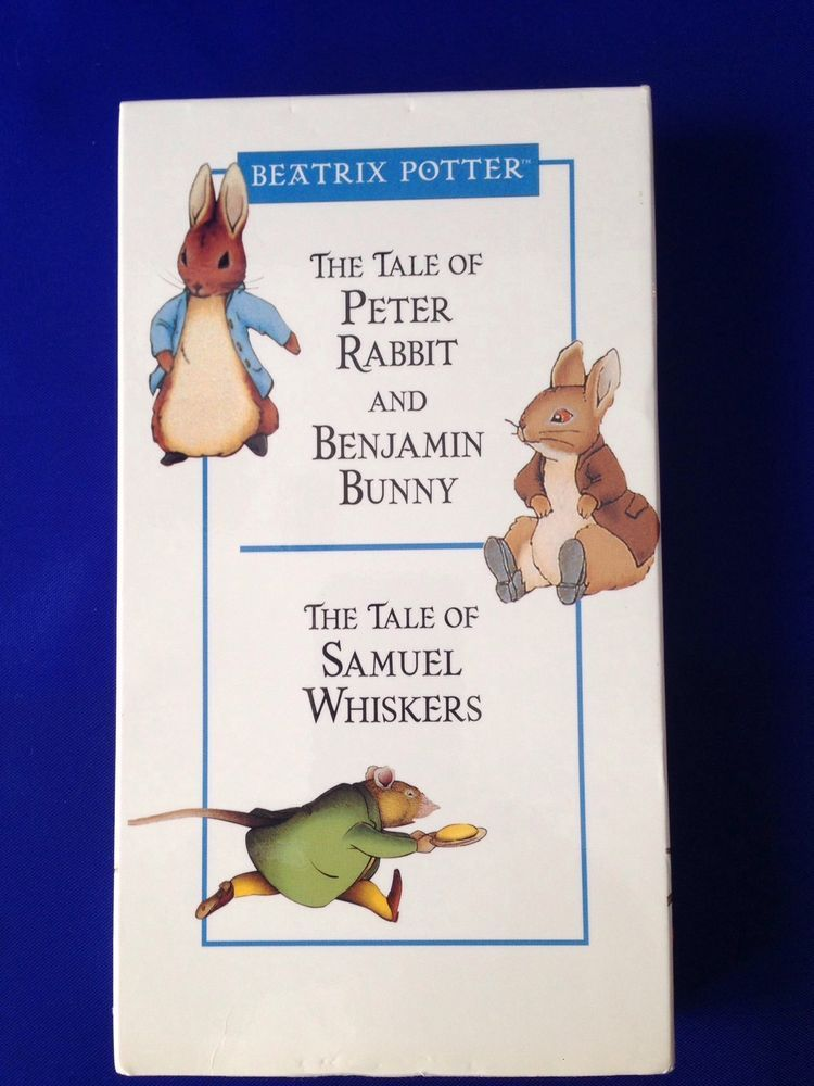 The Tale of Peter Rabbit and Benjamin Bunny Samuel Whiskers Beatrix Potter VHS