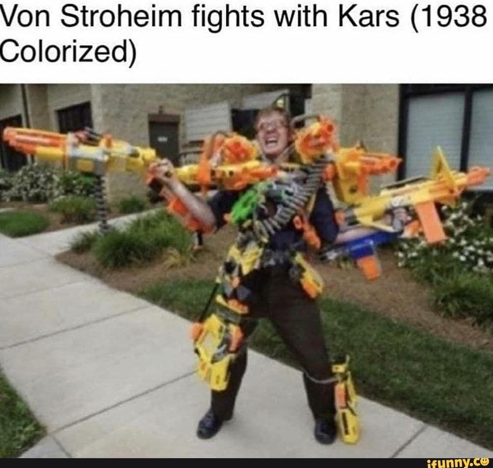 On Stroheim Fights With Kars 1938 Olorized Ifunny Jojo