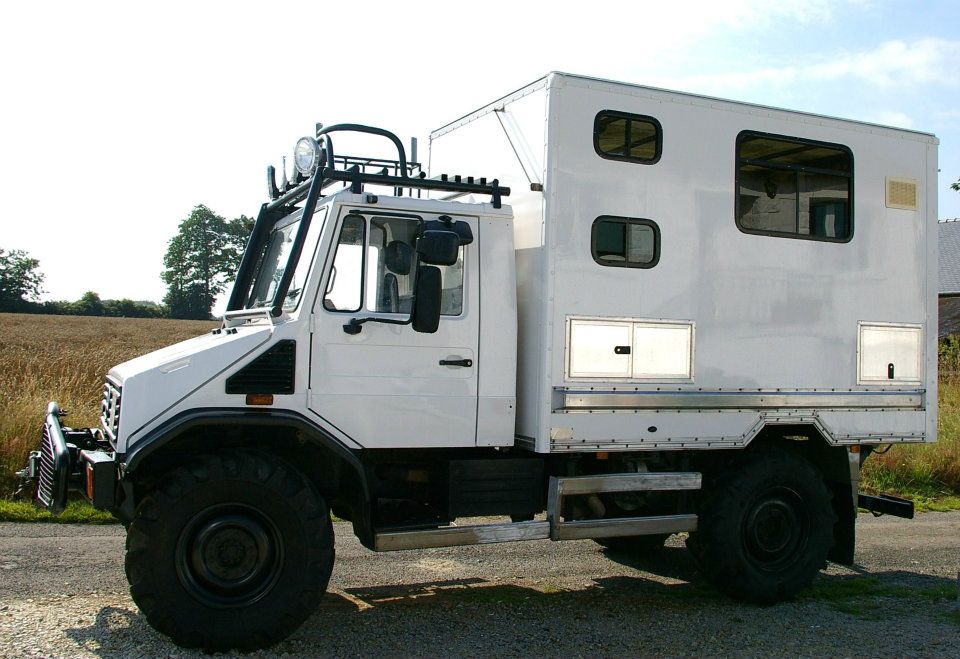 Off Road Campers For Sale At The Unimog Shop Expedition