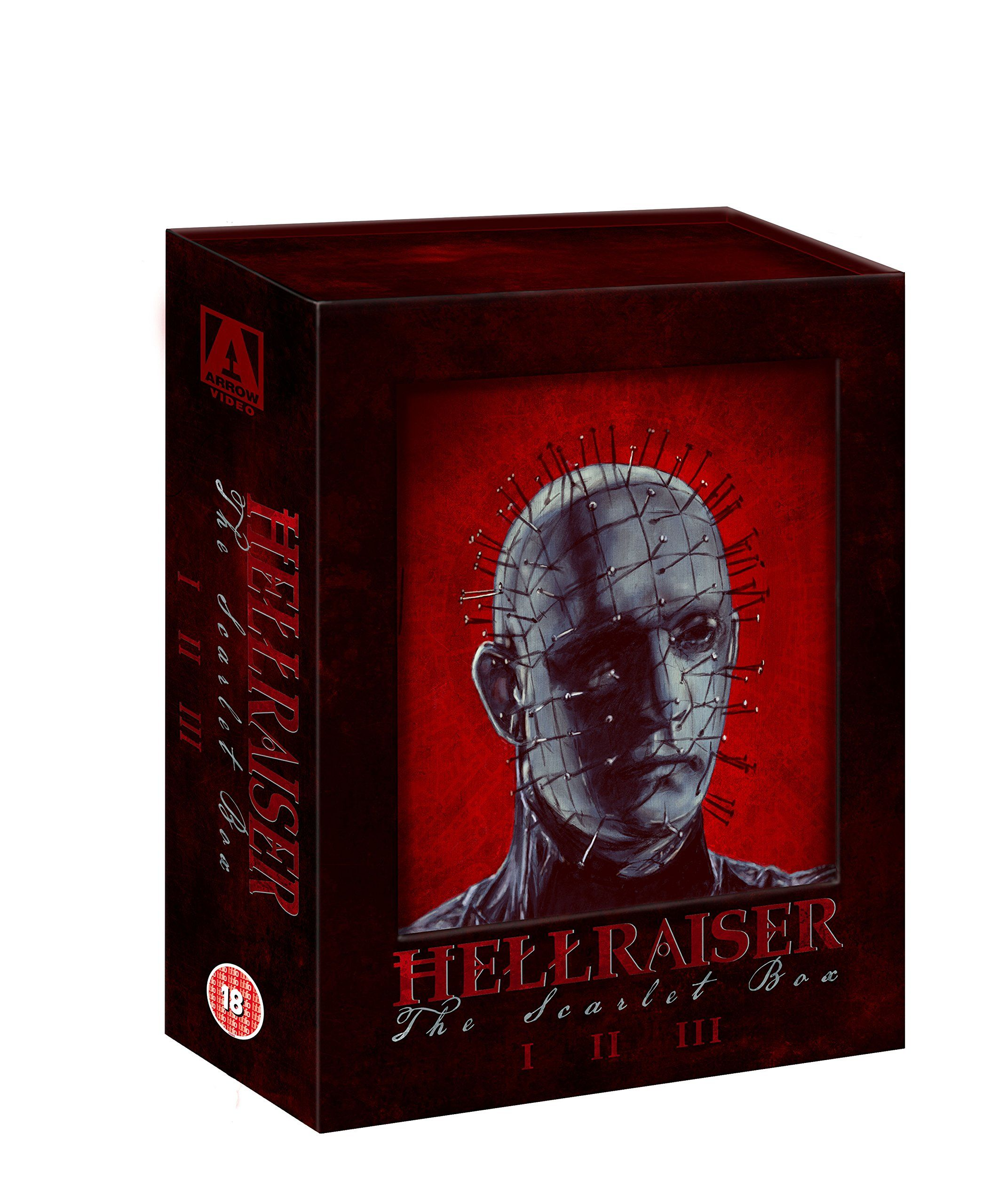 Hellraiser The Scarlet Box Limited Edition Trilogy [Blu