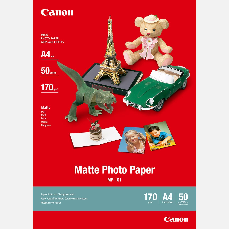 Shop online for Canon MP101 Matte Photo Paper A4 50