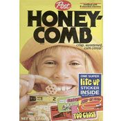 1980s cereal | Honey-Comb Cereal | MrBreakfast.com