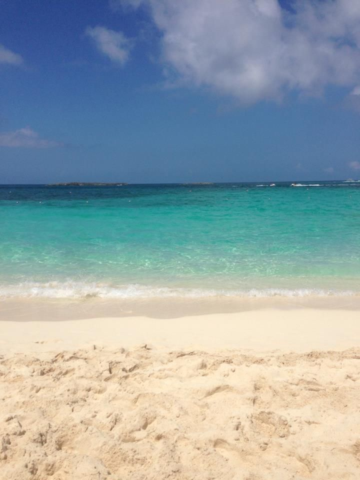 Sun, sand, sea, sky. What more do you need?