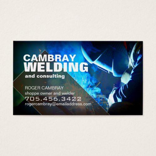 Customizable Welder Consultant Business