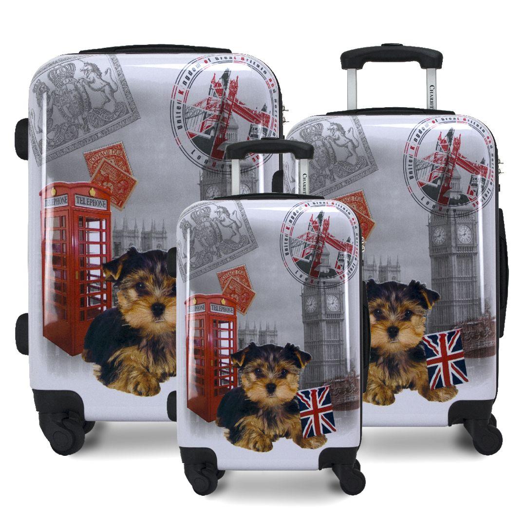 UK 3pc. Hardside Luggage Set in 2020 Luggage sets