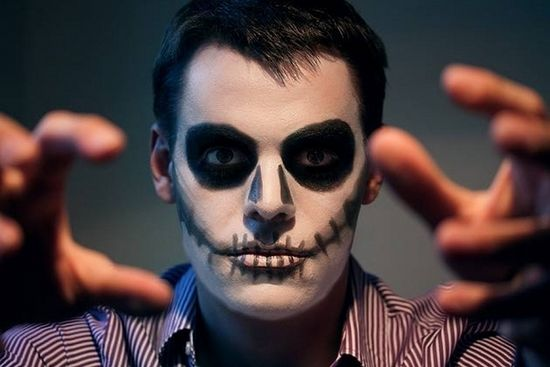 Easy Halloween Makeup For Men.Halloween Make Up Ideas For Men Easy Make Up Ideas Diy