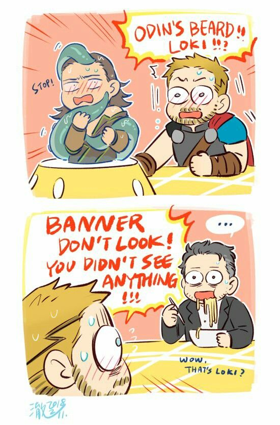 Thor 3 deleted scene 2/2 || Loki || Cr: 澈(Che)