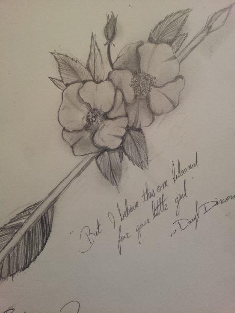 Cherokee Rose Tattoo : cherokee, tattoo, Cherokee, Walking, Dead), Alyxandrea, Native, American, Tattoos,, Tattoo,, Tattoos
