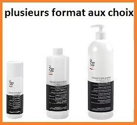 Cleaner Triple Action Degraissant Gel Uv Ongle Pinceau Dissolvant