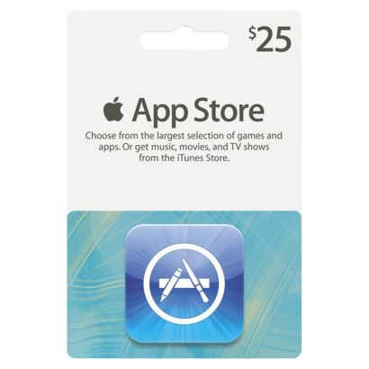 Apple iTunes App Store Gift Card,So many apps...I have