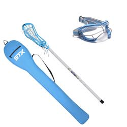 Girl's Lacrosse starter kit!  Perfect for your daughter to get introduced into the game!  STX equipment is top of the line in the girl's game, and they have put together an affordable, high-end equipment package that is perfect for any girl that is taking up Lacrosse.