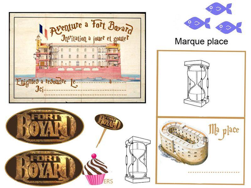 Fort Boyard Mini Theme 1 Et 2 Et 3 Doudous Patrons
