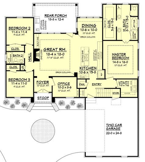 Our Kynslee House Plan Is One Of Our Most Popular French Acadian House Plans Online This 3 Bedroom Ho Acadian House Plans Floor Plan Layout House Plans Online