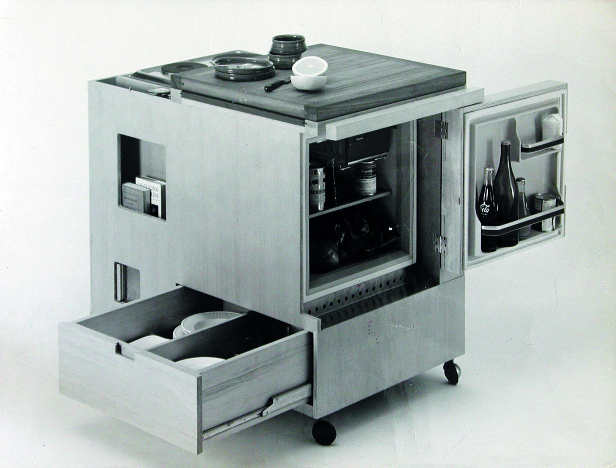 mini kitchen joe colombo boffi 1965 courtesy