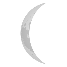 Waning Crescent Moon Icon