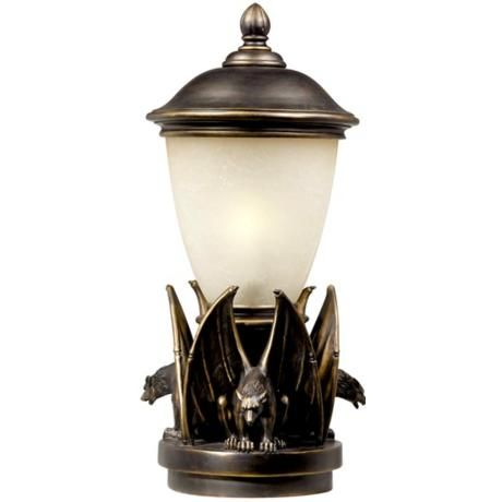 Gargoyle Energy Efficient 23 High Outdoor Pier Mount Light Lamp