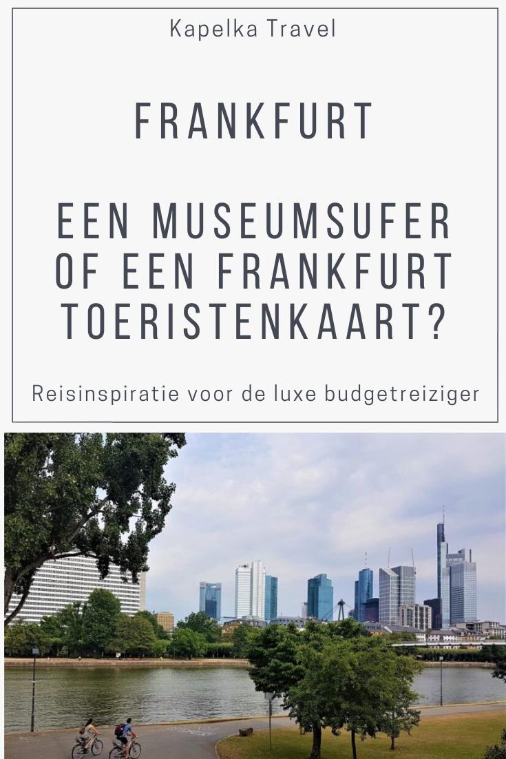 Museumsufercard Frankfurt