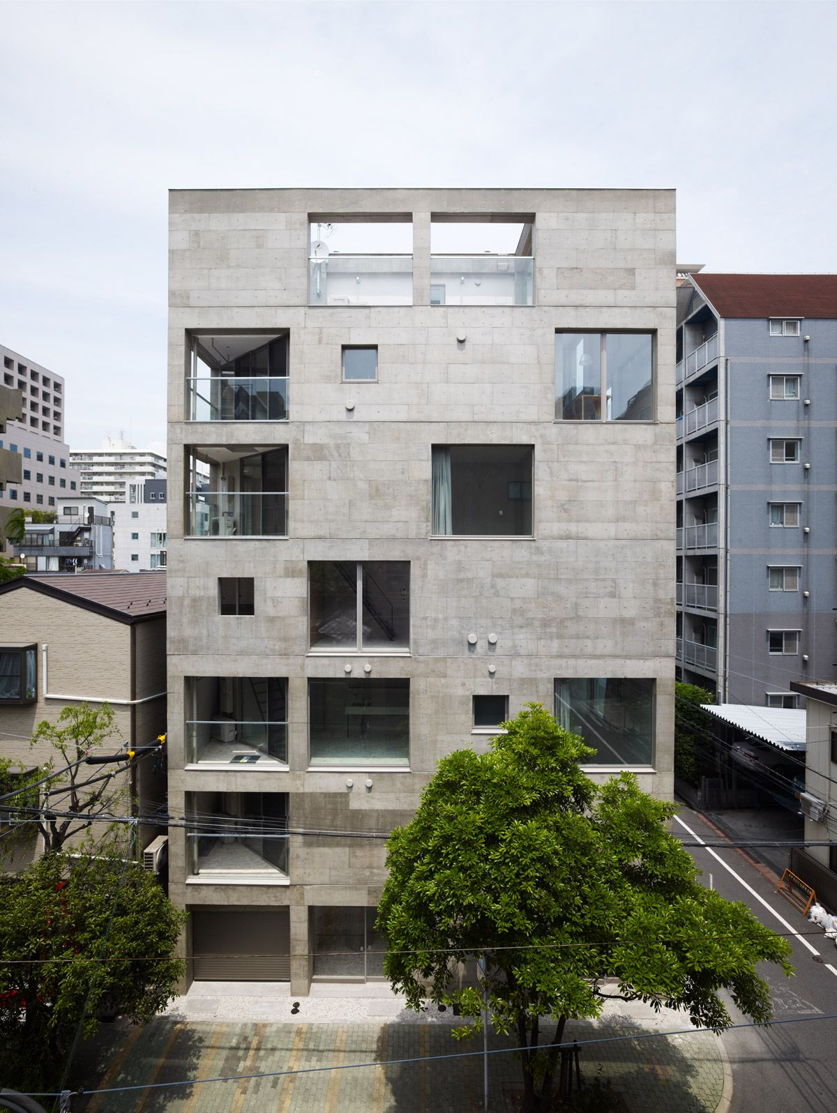 Hiroyuki Ito Architects - Housing Complex - Tokyo ...