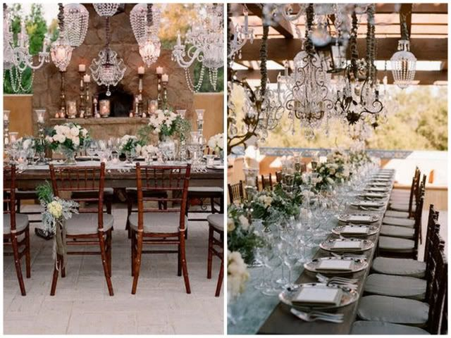 French Country Wedding Decorations | Little White Dress French Country Chic Wedding Real Wedding Luxe Find ...