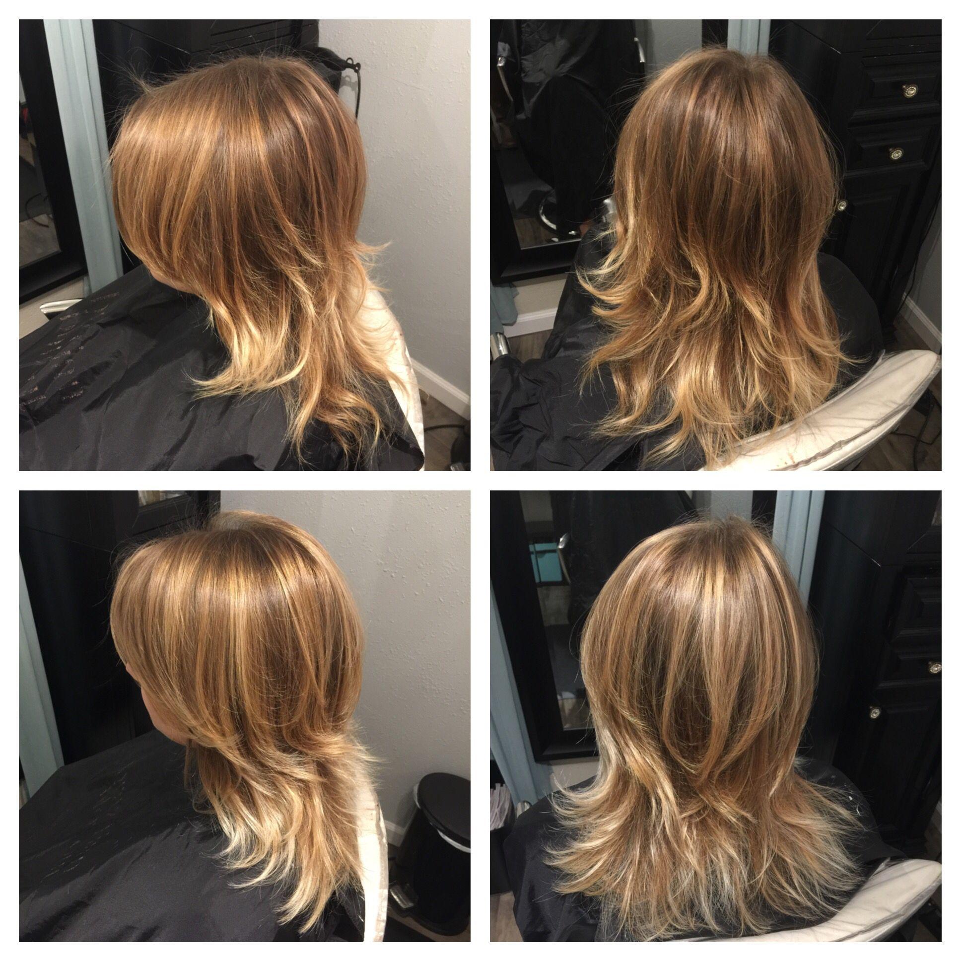 Blonde balayage hair before u afterus pinterest blonde