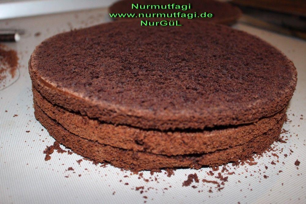 Cikolatali Pandispanya tarifi, pandispanya tarifi, yas pasta pandispanyasi nasil yapilir[...
