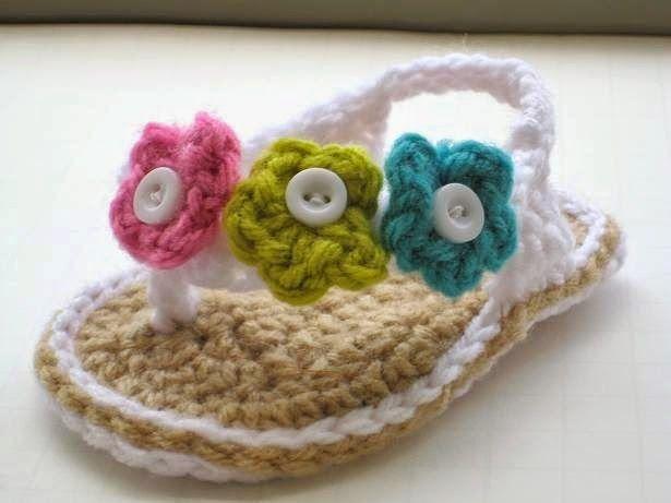 d29b51cf5bd1 Crochet Flip Flops Pattern (pdf pattern for sale)