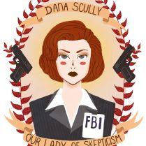 Dana Scully by Spencer