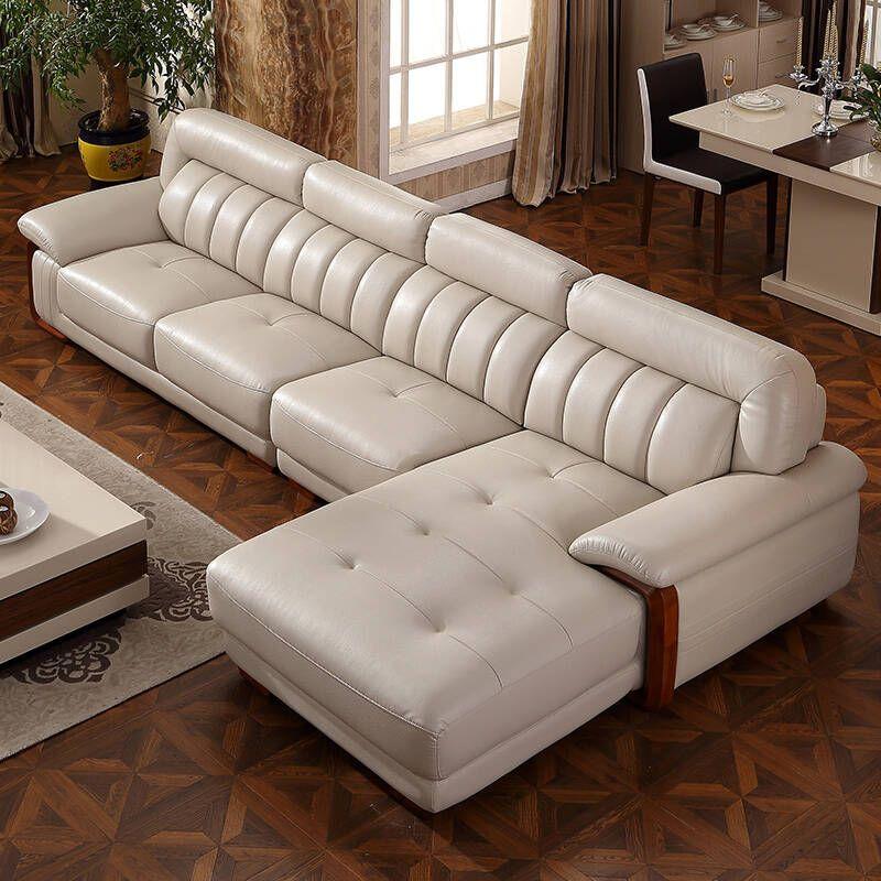 Leather Sofas Add A Sense Of Sophistication Page 44 Of 54 Sofa Set Designs Luxury Living Room Design Living Room Sofa Set