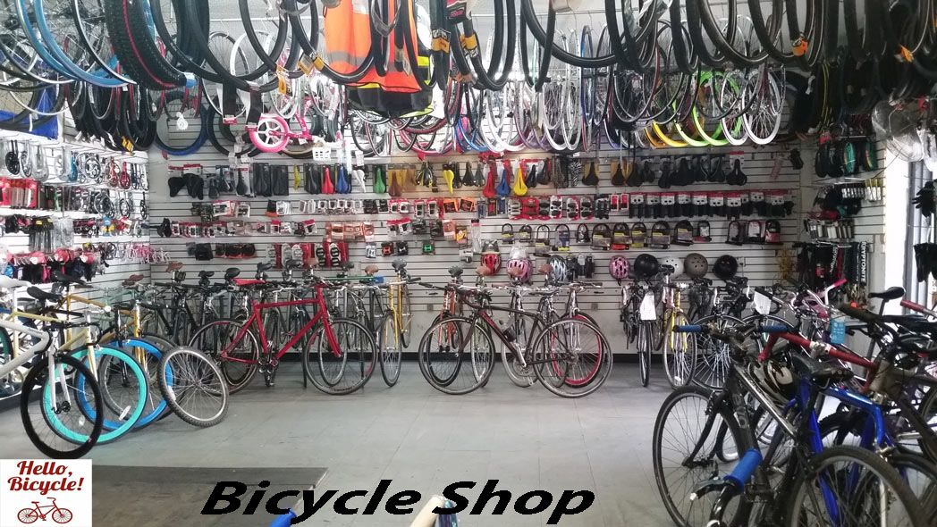 Pin On Bicycle Shop