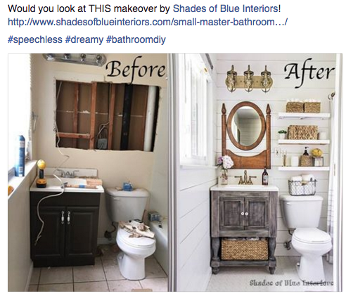 Http Www Shadesofblueinteriors Com Small Master Bathroom Vanity Free Plans Small Country Bathrooms Diy Bathroom Remodel Rustic Bathrooms
