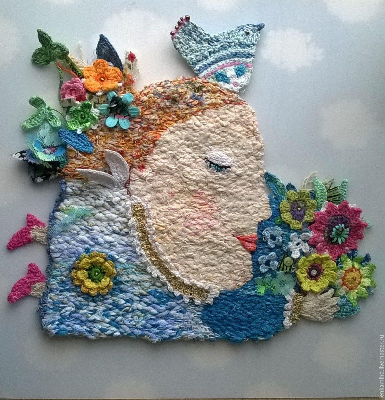 Купить Весна. - голубой, для дома и интерьера, для интерьера, для уюта, Для настроения, для радости