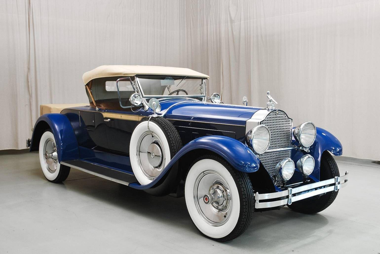 1929 Packard 640 Roadster For Sale 1670560 Hemmings Motor News Classic Cars Classic Cars Vintage Vintage Cars