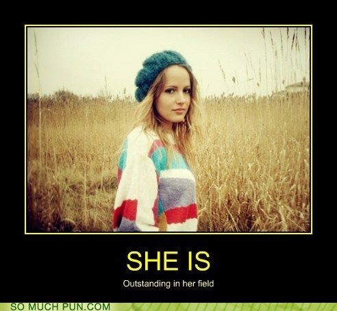 funny puns - She is Also Perpetuating One of the Most Tired Puns on the Internet
