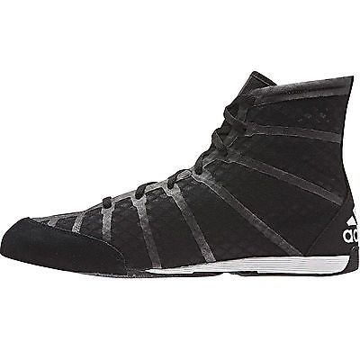 huge selection of 9932e 99961 Adidas adizero mens boxing trainer shoe boot black white, View more