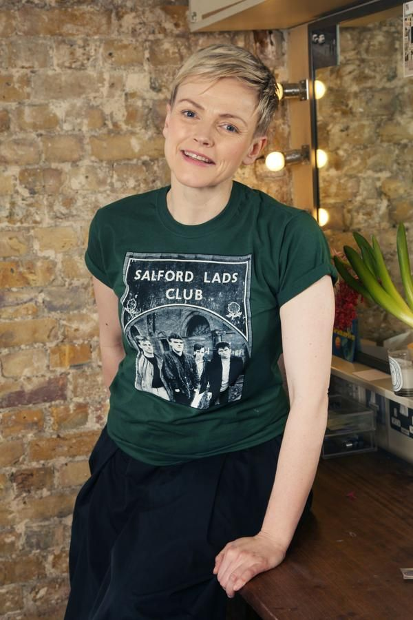 429b91aac Maxine Peake in a Smiths T-Shirt. | The Gentlewoman in 2019 | Mens ...