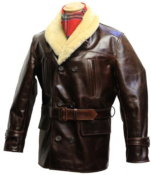b8d013fac44 Shawl Collar Barnstormer leather jacket