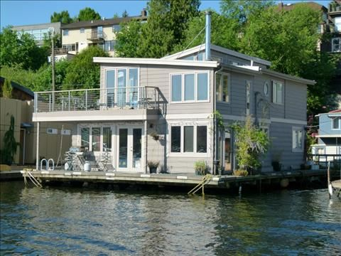 Houseboat Seattle My Seattle Floating House Seattle Homes