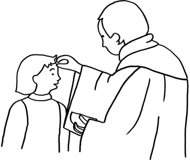 ash wednesday coloring pages in 2020