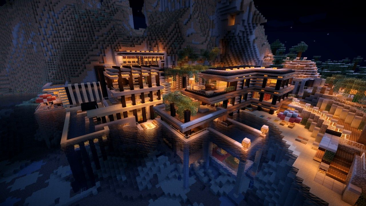 1 8 luxurious cove house map download minecraft big houses