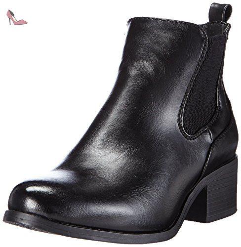 femme schwarzschwarz chelsea bottes Noir Rieker y0580 00 qBRptt