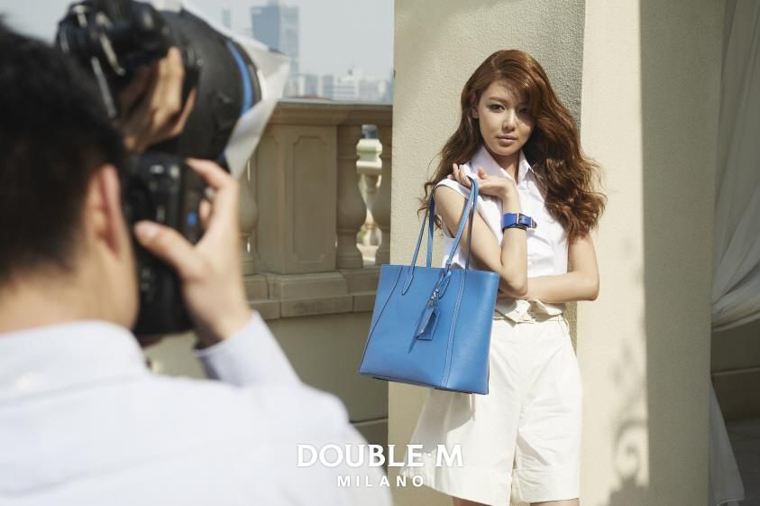 Sooyoung : DOUBLE*M HOT SUMMER LOOK 촬영 스케치 2탄 / Shooting Sketch 2nd