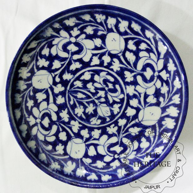 Google Image Result For Http Www Rajasthancraft Com India Blue Pottery India Blue Pottery Plate Images Blue Pottery Plate Pottery Plates Blue Pottery Pottery