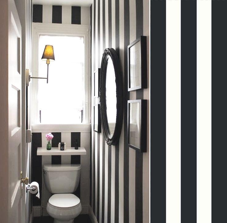 papier peint rayure noir et blanc magnus sandberg maison pinterest papier peint rayures. Black Bedroom Furniture Sets. Home Design Ideas